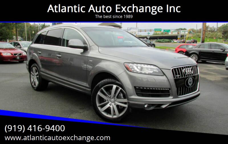 2015 Audi Q7 for sale at Atlantic Auto Exchange Inc in Durham NC