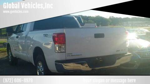 2012 Toyota Tundra for sale at Global Vehicles,Inc in Irving TX