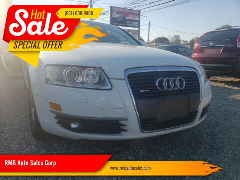2005 Audi A6 for sale at RMB Auto Sales Corp in Copiague NY