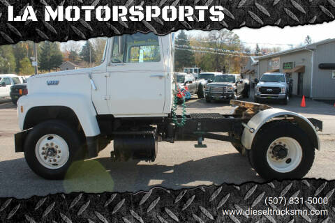 1988 Ford L8000 for sale at LA MOTORSPORTS in Windom MN