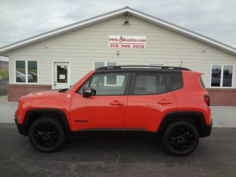 2018 Jeep Renegade for sale at GIBB'S 10 SALES LLC in New York Mills MN