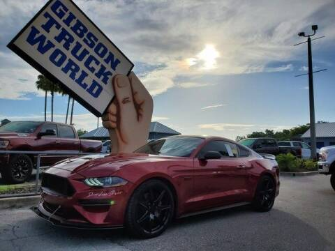 2020 Ford Mustang for sale at Gibson Truck World in Sanford FL