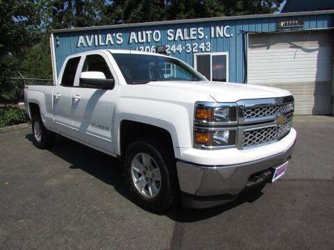 2015 Chevrolet Silverado 1500 for sale at Avilas Auto Sales Inc in Burien WA