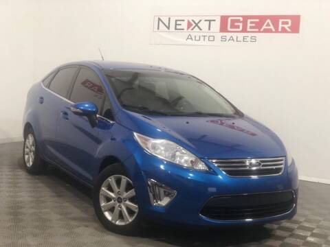 2011 Ford Fiesta for sale at Next Gear Auto Sales in Westfield IN