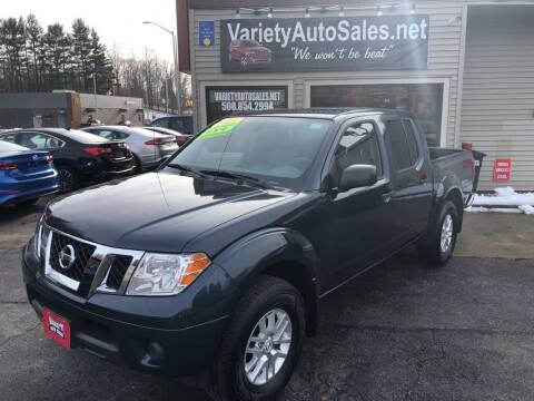 2019 Nissan Frontier for sale at Variety Auto Sales in Worcester MA