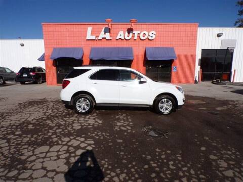 2015 Chevrolet Equinox for sale at L A AUTOS in Omaha NE
