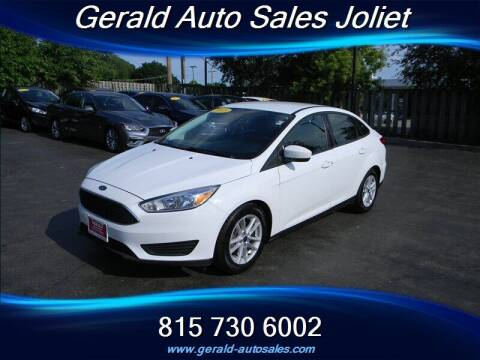2018 Ford Focus for sale at Gerald Auto Sales in Joliet IL
