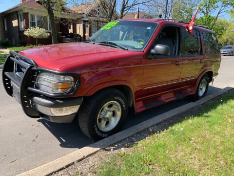 1998 Ford Explorer for sale at Apollo Motors INC in Chicago IL