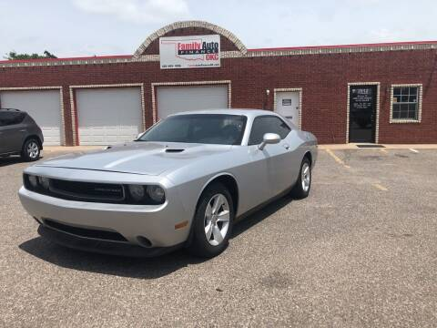 2012 Dodge Challenger for sale at Family Auto Finance OKC LLC in Oklahoma City OK