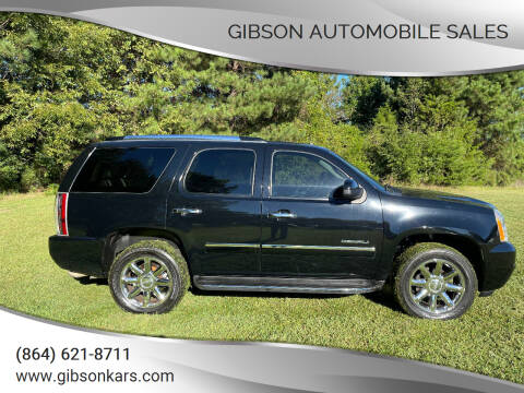2011 GMC Yukon for sale at Gibson Automobile Sales in Spartanburg SC