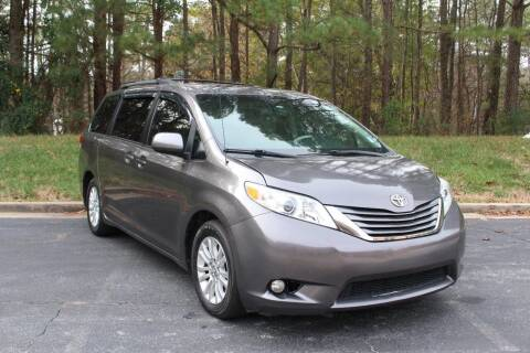 2012 Toyota Sienna for sale at El Patron Trucks in Norcross GA