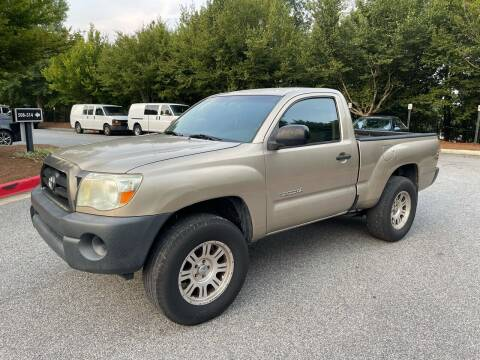 2007 Toyota Tacoma for sale at MJ AUTO BROKER in Alpharetta GA