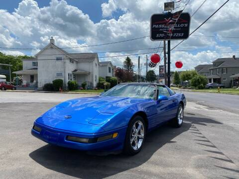 1994 Chevrolet Corvette for sale at Passariello's Auto Sales LLC in Old Forge PA