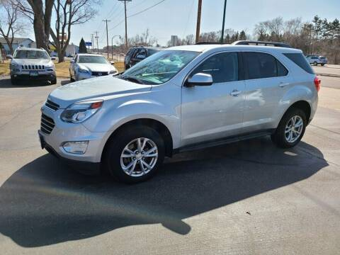 2016 Chevrolet Equinox for sale at Premier Motors LLC in Crystal MN