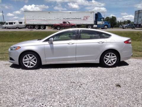 2016 Ford Fusion for sale at NORTHWOOD TRUCK SALES in Northport AL