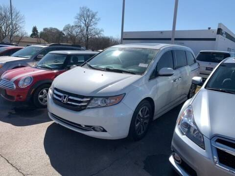 2015 Honda Odyssey for sale at BORGMAN OF HOLLAND LLC in Holland MI