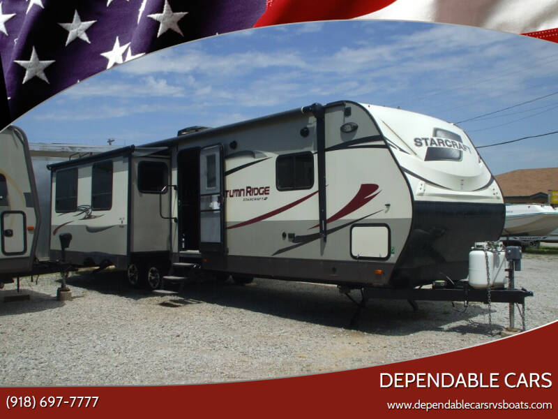 2016 Starcraft AUTUMN RIDGE 34ft for sale at DEPENDABLE CARS in Mannford OK