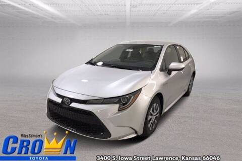 2021 Toyota Corolla Hybrid for sale at Crown Automotive of Lawrence Kansas in Lawrence KS