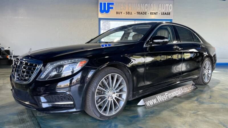 2015 Mercedes-Benz S-Class for sale at Wes Financial Auto in Dearborn Heights MI