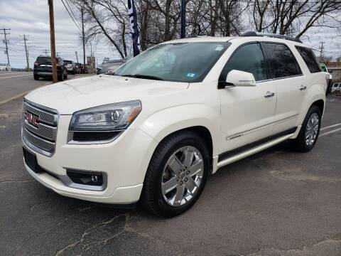 2014 GMC Acadia for sale at Real Deal Auto Sales in Manchester NH