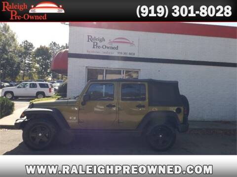 2007 Jeep Wrangler Unlimited for sale at Raleigh Pre-Owned in Raleigh NC