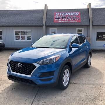 2019 Hyundai Tucson for sale at Stephen Motor Sales LLC in Caldwell OH