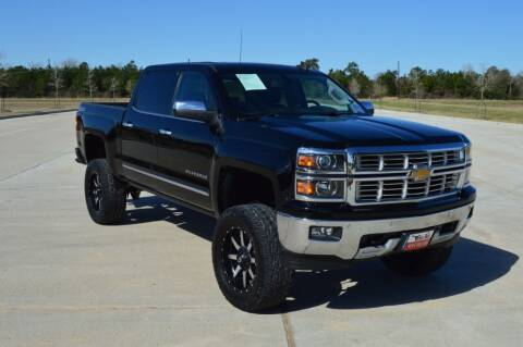 2015 Chevrolet Silverado 1500 for sale at Fincher's Texas Best Auto & Truck Sales in Tomball TX
