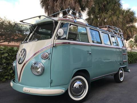 1966 Volkswagen Vanagon for sale at DS Motors in Boca Raton FL
