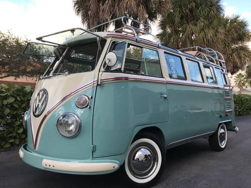 1966 Volkswagen Vanagon for sale at DS Motors in Boca Raton FL
