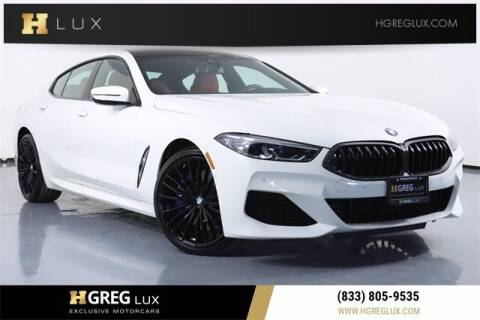 2020 BMW 8 Series for sale at HGREG LUX EXCLUSIVE MOTORCARS in Pompano Beach FL