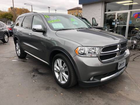 2011 Dodge Durango for sale at Streff Auto Group in Milwaukee WI