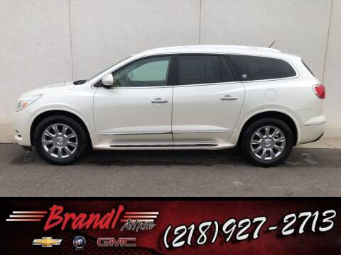 2013 Buick Enclave for sale at Brandl GM in Aitkin MN