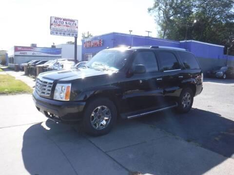 2004 Cadillac Escalade for sale at City Motors Auto Sale LLC in Redford MI
