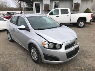 2012 Chevrolet Sonic for sale at WELLER BUDGET LOT in Grand Rapids MI