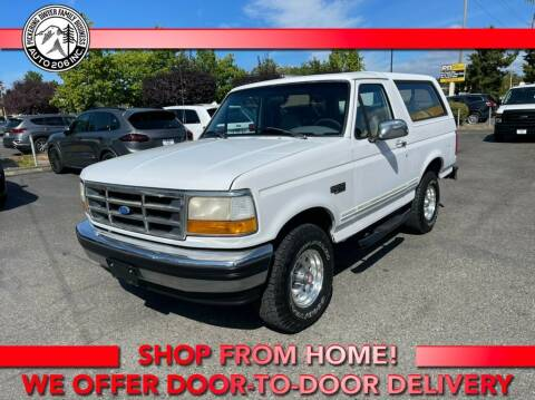 1994 Ford Bronco for sale at Auto 206, Inc. in Kent WA