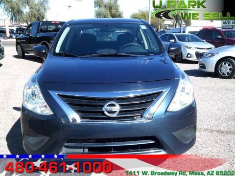 2016 Nissan Versa for sale at UPARK WE SELL AZ in Mesa AZ