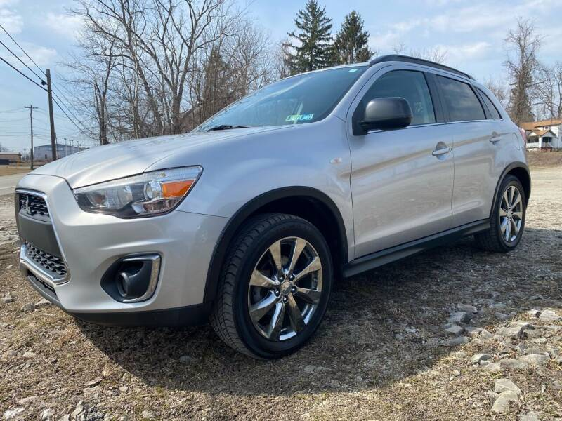 2013 Mitsubishi Outlander Sport for sale at Best For Less Auto Sales & Service LLC in Dunbar PA