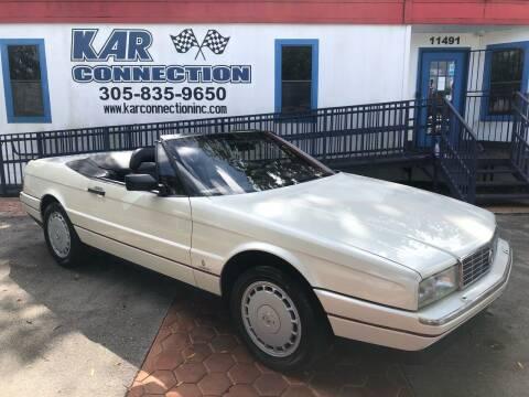 1992 Cadillac Allante for sale at Kar Connection in Miami FL