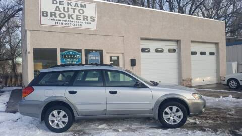 2005 Subaru Outback for sale at De Kam Auto Brokers in Colorado Springs CO