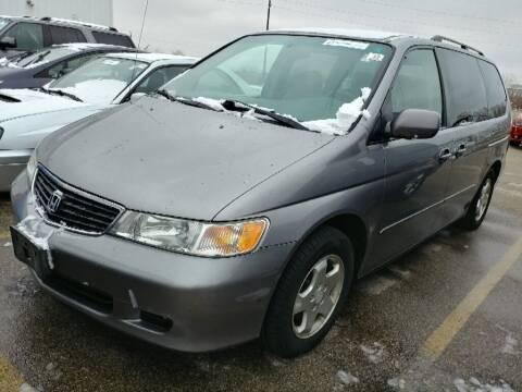 2000 Honda Odyssey for sale at Cj king of car loans/JJ's Best Auto Sales in Troy MI