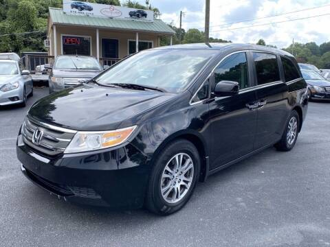 2012 Honda Odyssey for sale at Luxury Auto Innovations in Flowery Branch GA