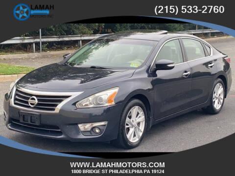 2014 Nissan Altima for sale at LAMAH MOTORS INC in Philadelphia PA