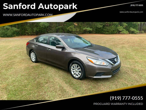 2016 Nissan Altima for sale at Sanford Autopark in Sanford NC