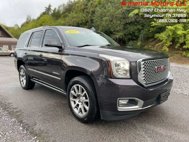 2015 GMC Yukon for sale at Armenia Motors in Seymour TN