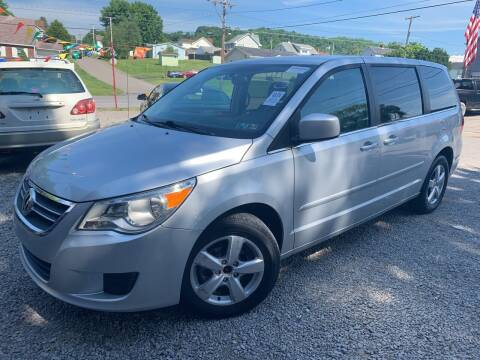 2010 Volkswagen Routan for sale at Trocci's Auto Sales in West Pittsburg PA