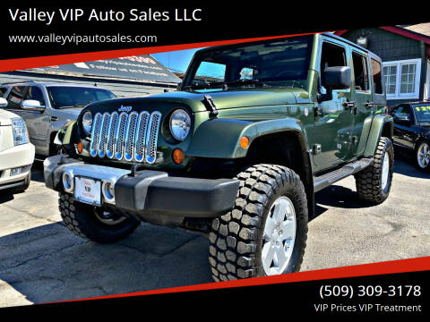 2008 Jeep Wrangler Unlimited for sale at Valley VIP Auto Sales LLC in Spokane Valley WA
