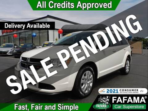 2019 Dodge Journey for sale at FAFAMA AUTO SALES Inc in Milford MA