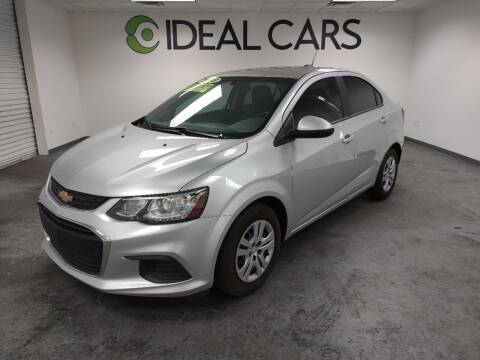 2018 Chevrolet Sonic for sale at Ideal Cars in Mesa AZ