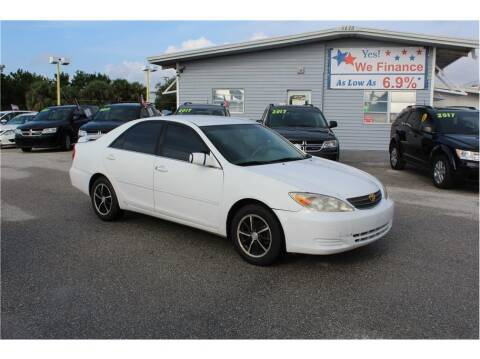 2002 Toyota Camry for sale at My Value Car Sales in Venice FL