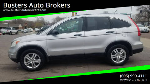 2010 Honda CR-V for sale at Busters Auto Brokers in Mitchell SD